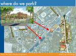 where do we park