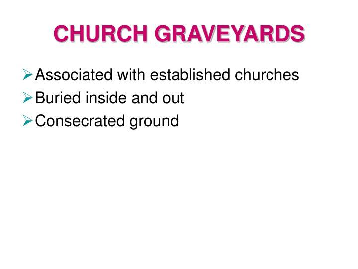 CHURCH GRAVEYARDS