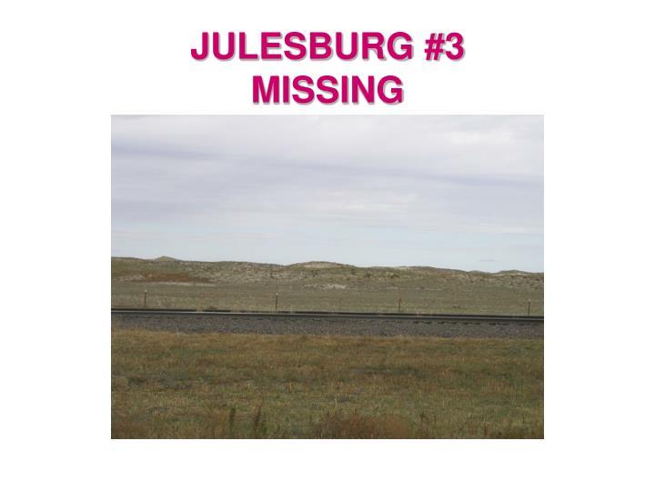 JULESBURG #3