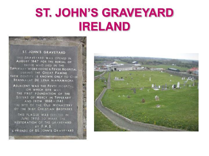 ST. JOHN'S GRAVEYARD