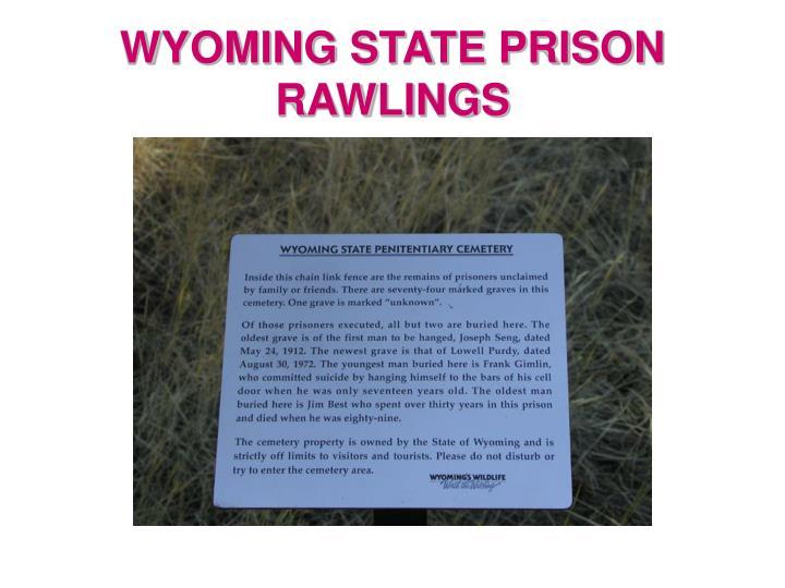 WYOMING STATE PRISON