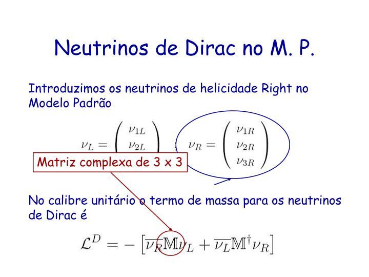 Matriz complexa de 3 x 3