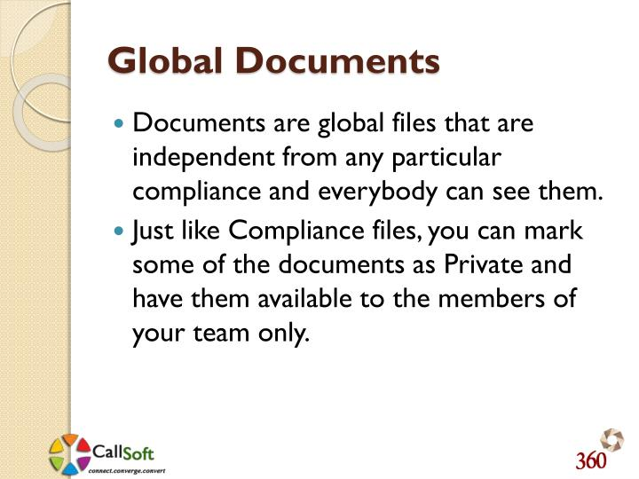 Global Documents