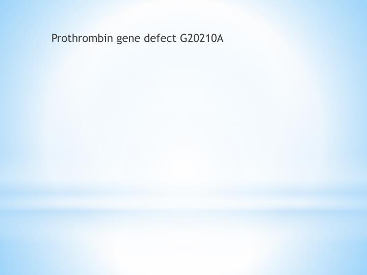 Prothrombin