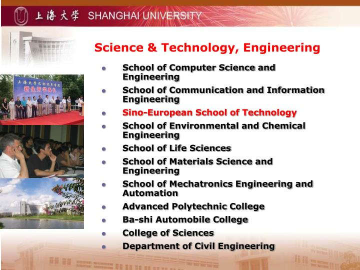Science & Technology, Engineering