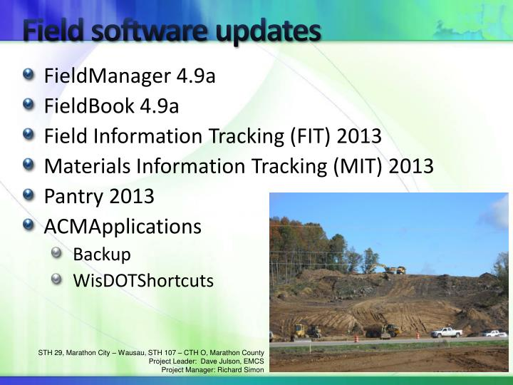 Field software