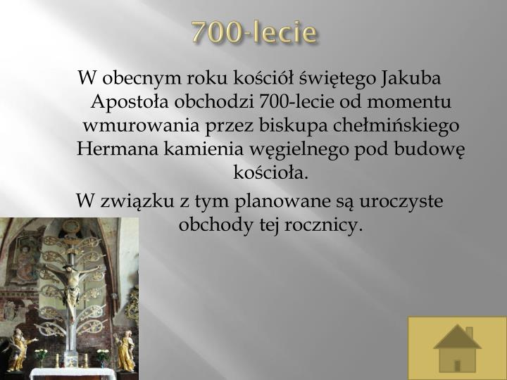 700-lecie