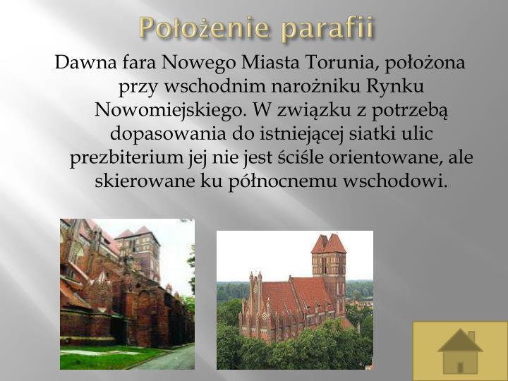 Położenie parafii