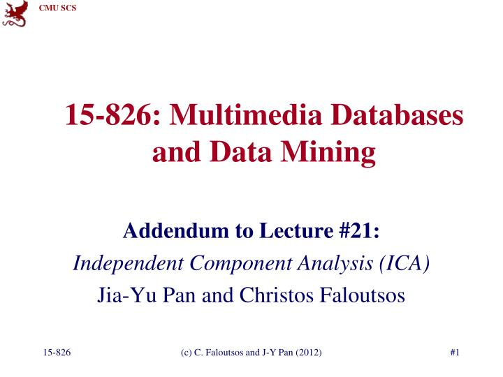 15 826 multimedia databases and data mining