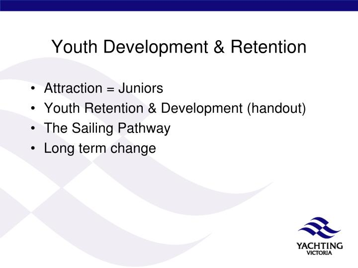 Youth Development & Retention