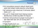 formula
