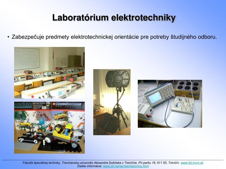 Laboratórium elektrotechniky