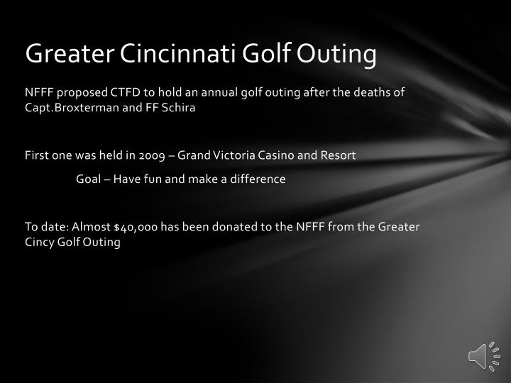 Greater Cincinnati Golf Outing