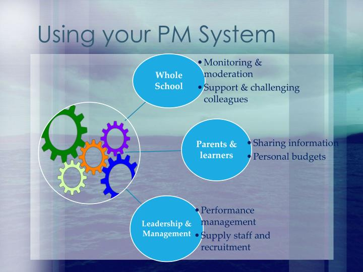 Using your PM System