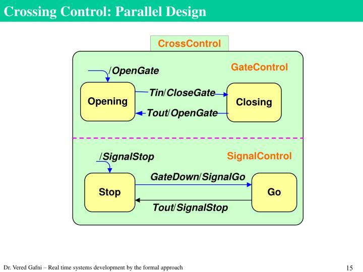 Crossing Control: Parallel Design