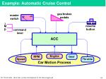 example automatic cruise control