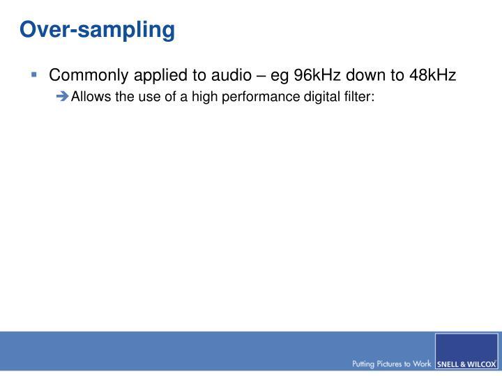 Over-sampling