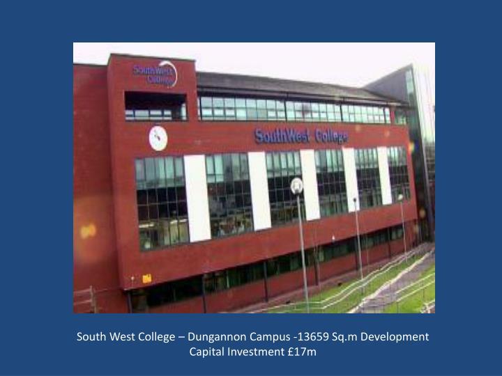 South West College – Dungannon Campus -13659 Sq.m Development