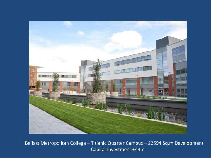 Belfast Metropolitan College – Titianic Quarter Campus – 22594 Sq.m Development
