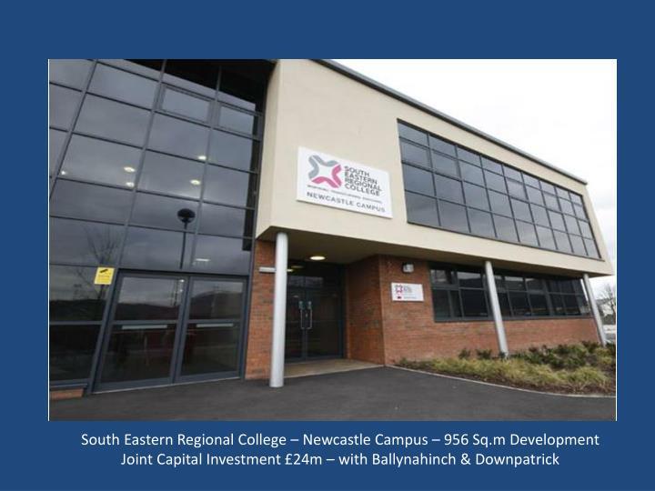 South Eastern Regional College – Newcastle Campus – 956 Sq.m Development