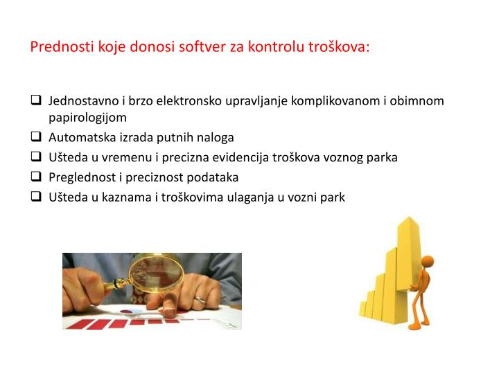 Prednosti koje donosi softver za kontrolu troškova:
