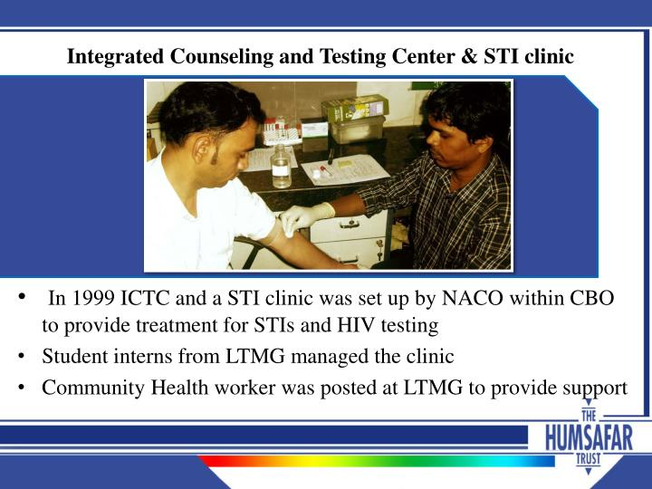 Integrated Counseling and Testing Center & STI clinic