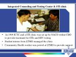 integrated counseling and testing center sti clinic