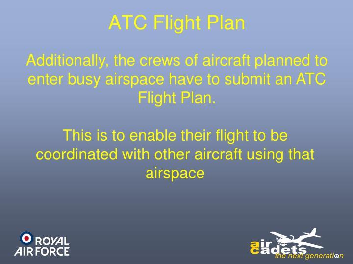 ATC Flight Plan