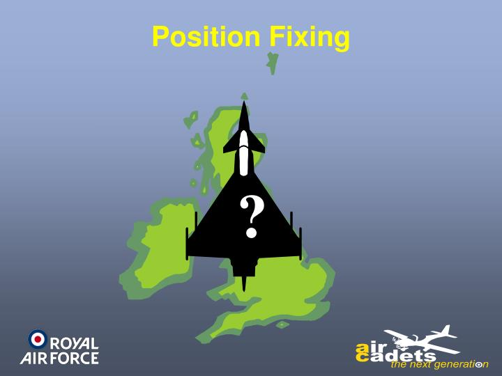 Position Fixing