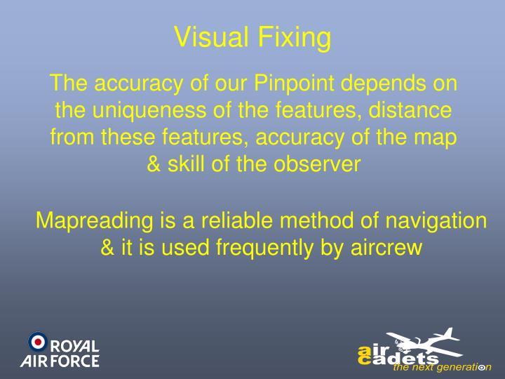 Visual Fixing