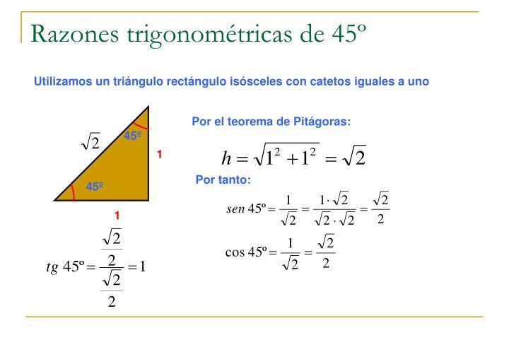 Por el teorema de Pitágoras: