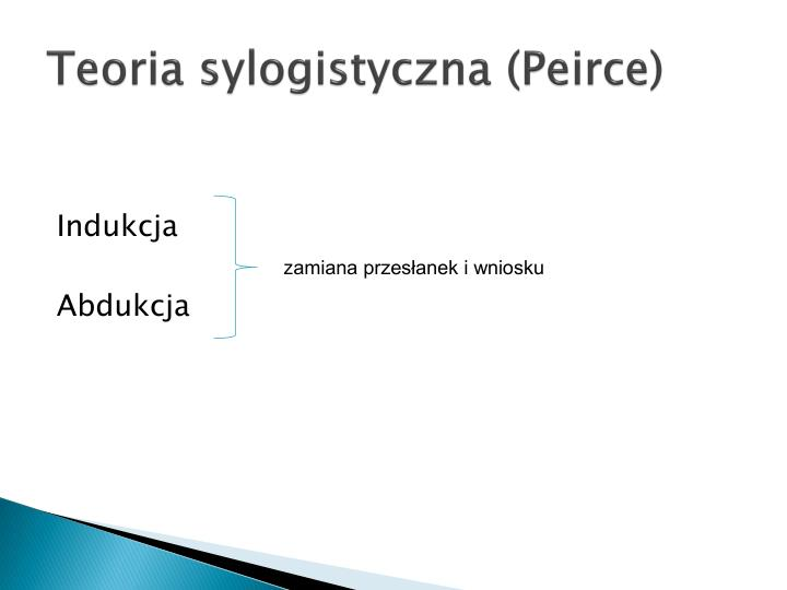 Teoria sylogistyczna (