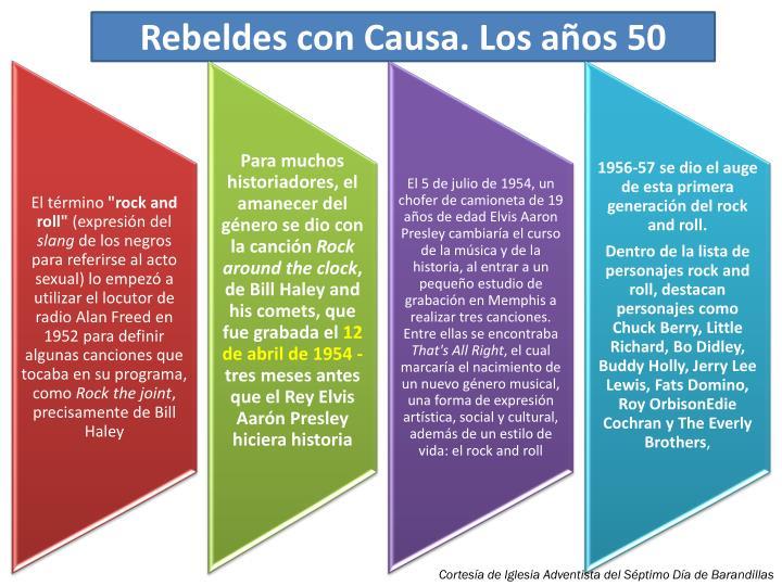 Rebeldes con Causa. Los años 50
