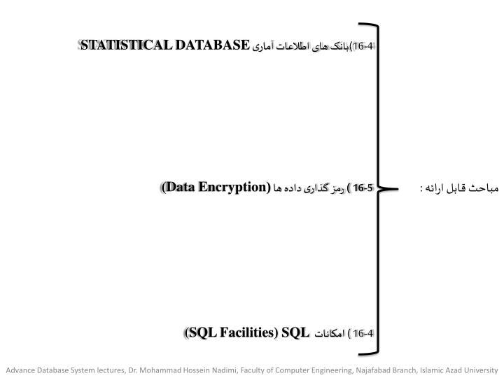 4-16)بانک های اطلاعات آماری