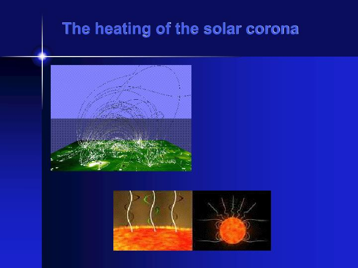 The heating of the solar corona