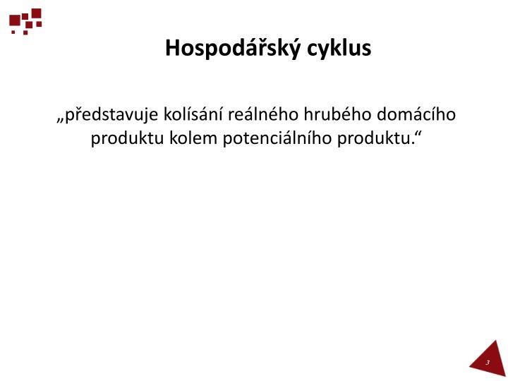 Hospodářský cyklus