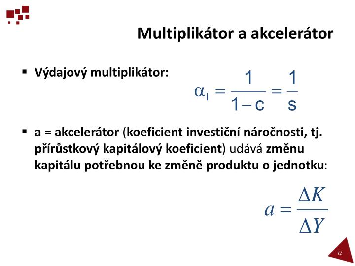 Multiplikátor a