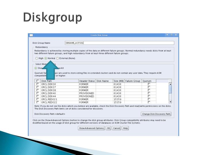 Diskgroup