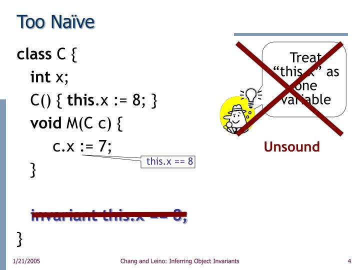 "Treat ""this.x"" as one variable"