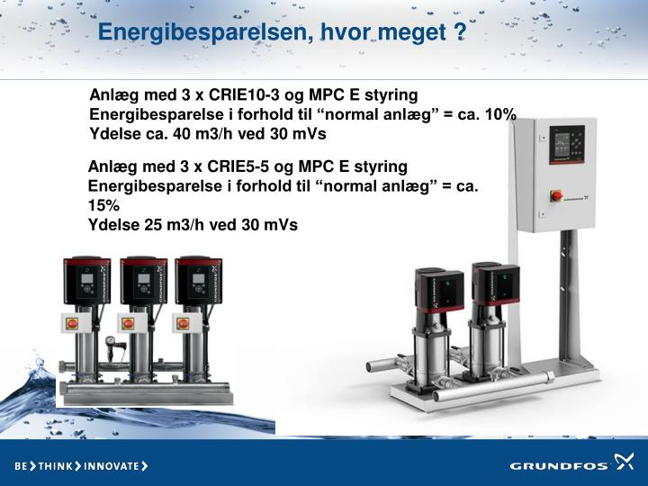 Energibesparelsen, hvor meget ?
