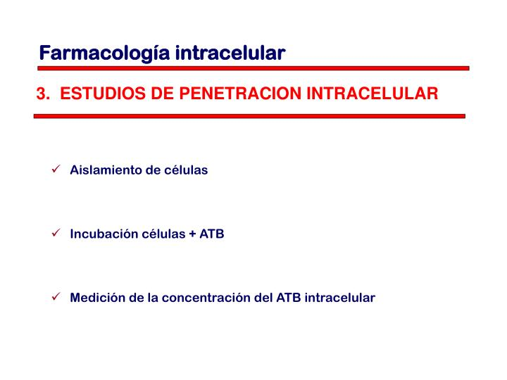Farmacología intracelular