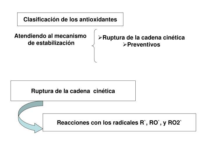 Ruptura de la cadena cinética