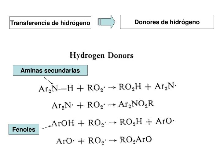 Donores de hidrógeno