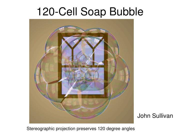 120-Cell Soap Bubble