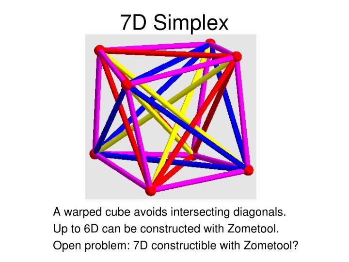 7D Simplex