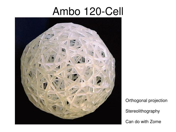 Ambo 120-Cell