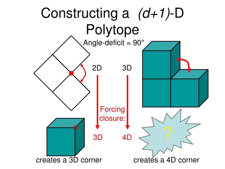 Constructing a