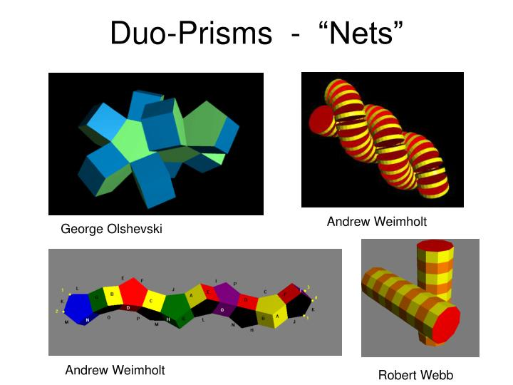 """Duo-Prisms  -  """"Nets"""""""