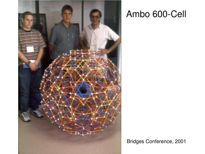 Ambo 600-Cell