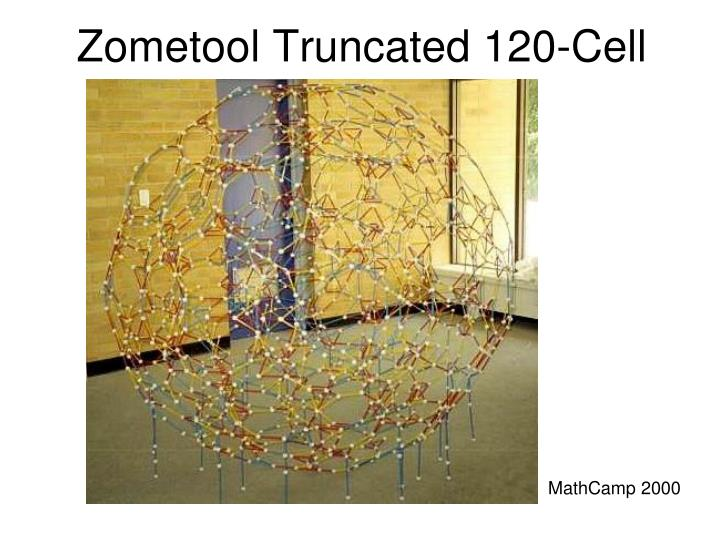 Zometool Truncated 120-Cell